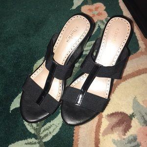 black heels from charles by charles david!